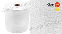 Рушники паперові для протирання в рулоні 2-х шаровий целюл., Luх TRK (6 рул/міш), 120м Clean Point