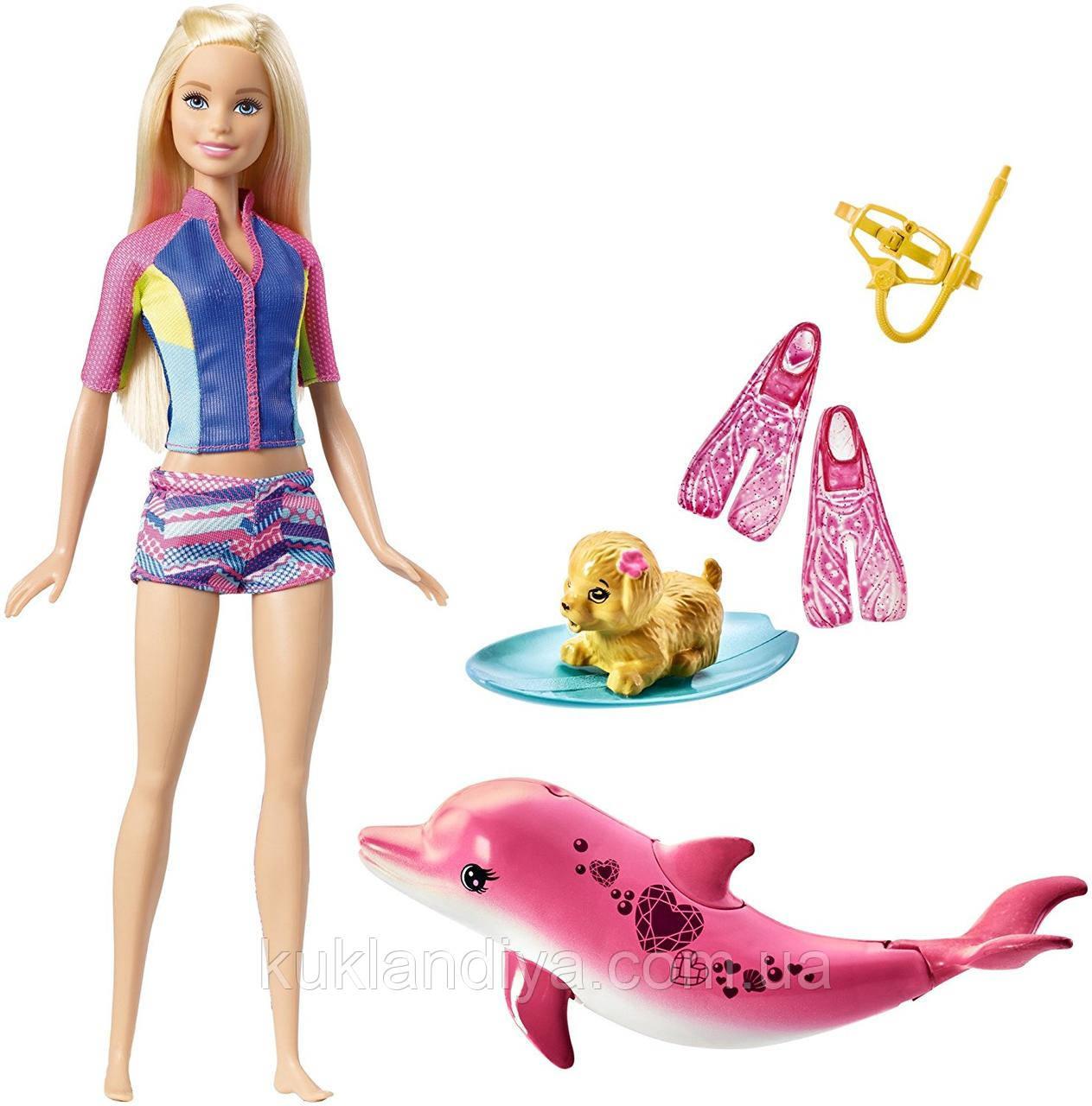 Набір Barbie Підводне плавання / Dolphin Magic