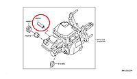 Nissan Leaf Індикатор тормозної рідини