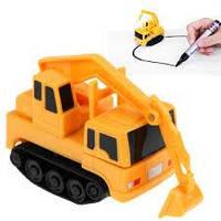 Індуктивна машинка, дитячий індуктивний автомобіль, Induction Truck №2, фото 1