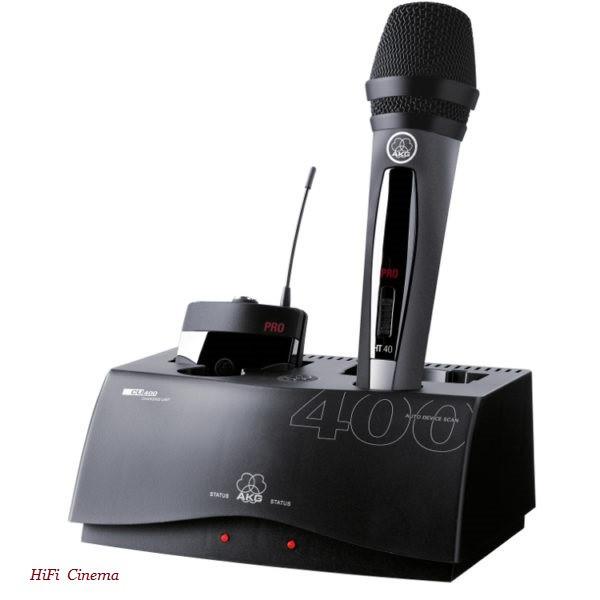 AKG CU400 - Зарядное устройство для передатчиков серии WMS470/WMS450/WMS40Ppro