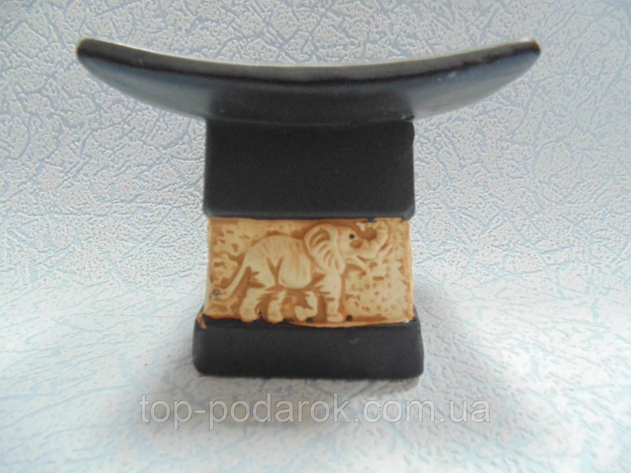 Аромалампа керамическая Слоны размер 9.5*9.5*8 см