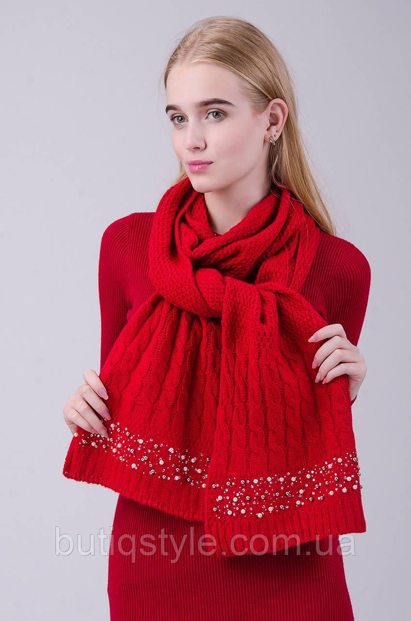 Стильный и теплый женский шарф