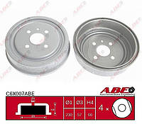 Тормозные барабаны Opel Astra F/G (classic), Combo, Vectra B - C6X007ABE (DB4391 / 24444064)