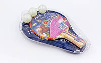 Набор для настольного тенниса 1 ракетка, 3 мяча с чехлом STIGA SGA-175101 OMEGA
