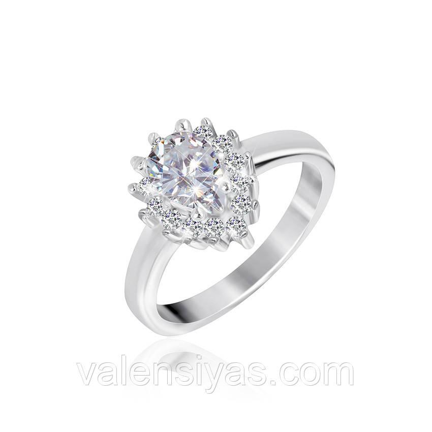 Серебряное кольцо-комплект КК2Ф/429