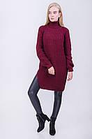 Стильный удлиненный свитер