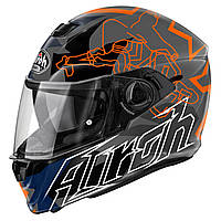 "Шлем AIROH STORM BIONICLE orange gloss ""L"", арт.STBI32, арт. STBI32 (шт.)"