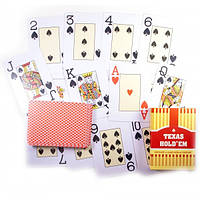 Карты для игры в спортивный покер Texas holdem 54шт