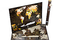 Скретч карта мира My Map Chocolate Edition, фото 1