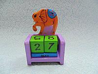 Вечный календарь Слон размер 10*7.5*4