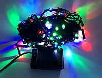 Гирлянда электрическая с круглыми лампами 100 ламп 8 функций