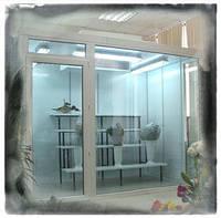 Витрина, холодильник для цветов