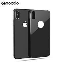 Защитное стекло на заднюю крышку Mocolo 3D 9H для Apple iPhone X черный