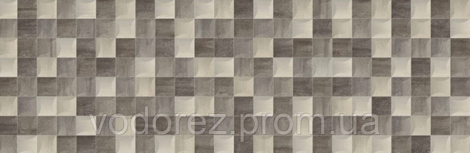 Плитка BALDOCER DÉCOR KUB VASARI GRAFITO  28 X 85