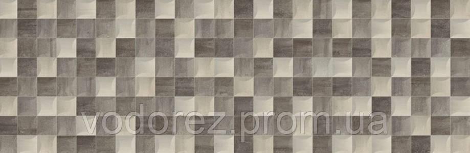 Плитка BALDOCER DÉCOR KUB VASARI GRAFITO  28 X 85, фото 2
