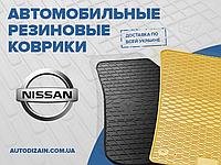 Резиновые коврики в салон NISSAN MAXIMA QX (A33) 00- (Ниссан Максима Кью Икс) (design 2016)