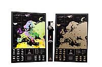 Скретч карта мира My Map Europe Edition