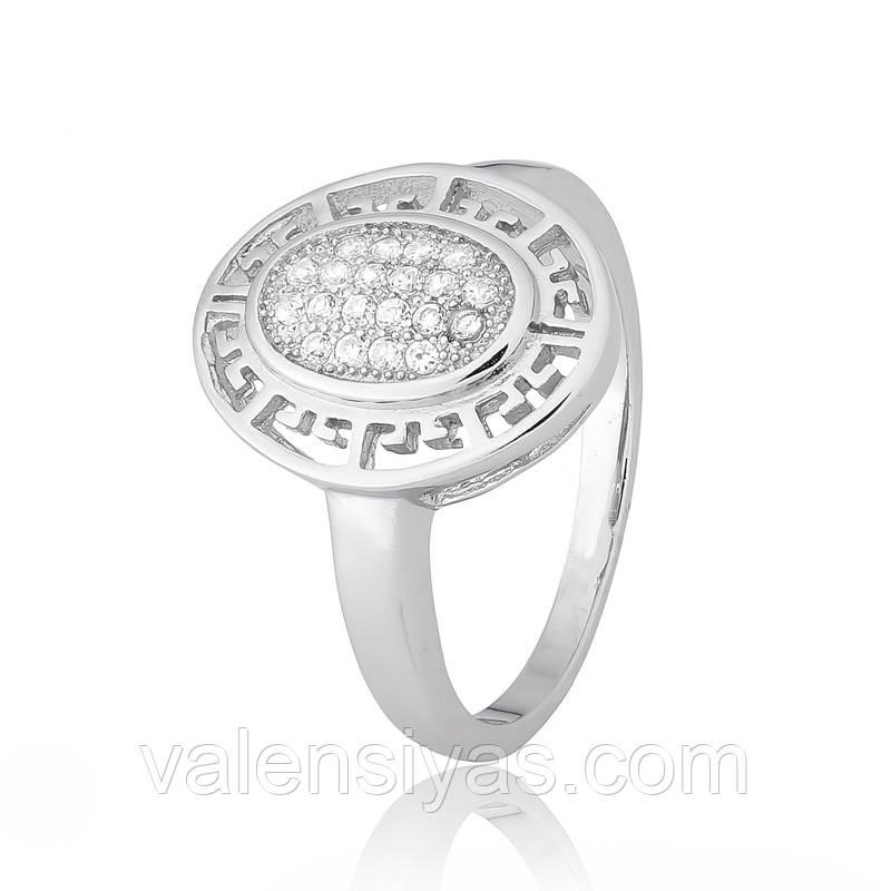 Серебряное кольцо-комплект КК2Ф/465