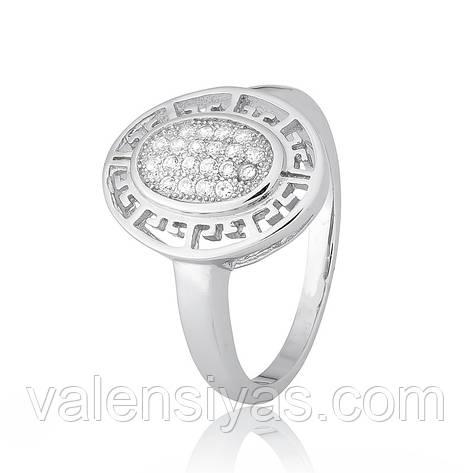 Серебряное кольцо-комплект КК2Ф/465, фото 2