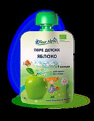 Детское фруктовое пюре Fleur Alpine ЯБЛОКО 90г