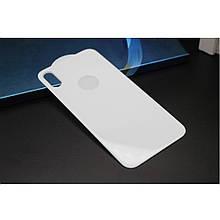 Защитное стекло на заднюю крышку Mocolo 3D 9H для Apple iPhone X белый
