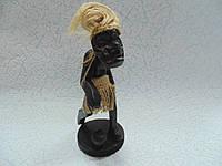 Статуэтка деревянная Футболист размер 17*9*8 см, фото 1
