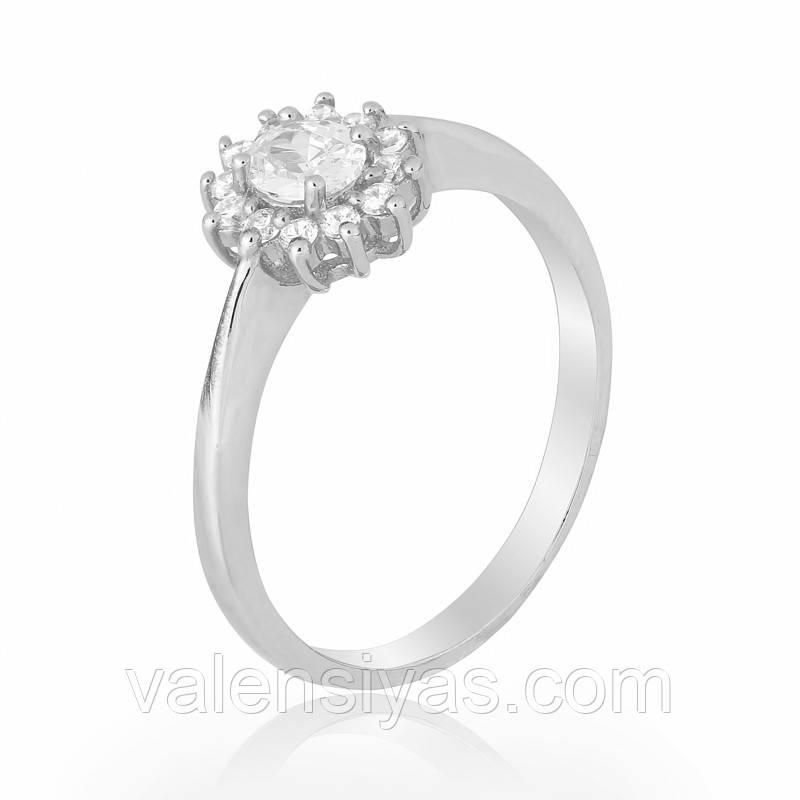 Серебряное кольцо-комплект КК2Ф/475