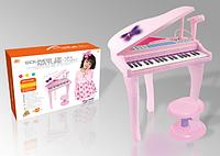 Детский рояль со стульчиком 88022A (6611) ***