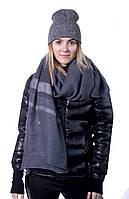 Шарфик женский dark-grey 180*70 см.