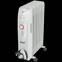 Масляный радиатор обогреватель Igenix IG2605 с 24-часовым таймером, 2 кВт - серый