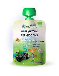 Детское фруктовое пюре Fleur Alpine ЧЕРНОСЛИВ 90г