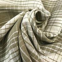Плотная льняная ткань 100%, цвет 4/330