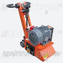Демаркировщик электрический по асфальту SPEKTRUM SFM-250E (Siemens 5,5 кВт, 380 В), глубина фрезеровки 10 mm