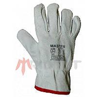 Перчатки спилковые Trident Master