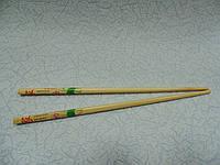 Палочки для еды деревянные длина 24 см