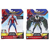 Фигурки человека-паука паутинный город 15 см