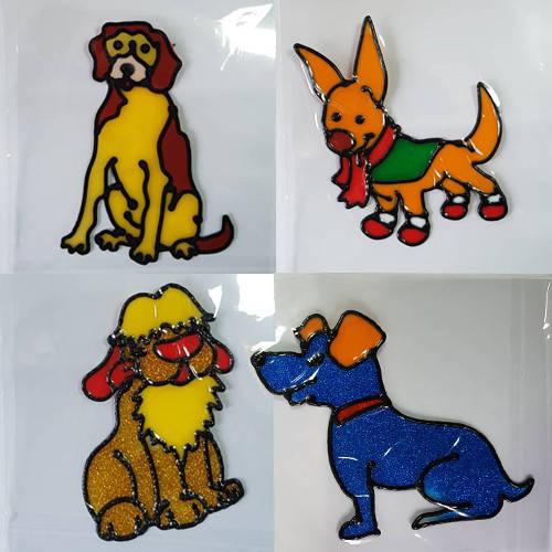 Наклейка силиконовая, Год Собаки, 20*20см
