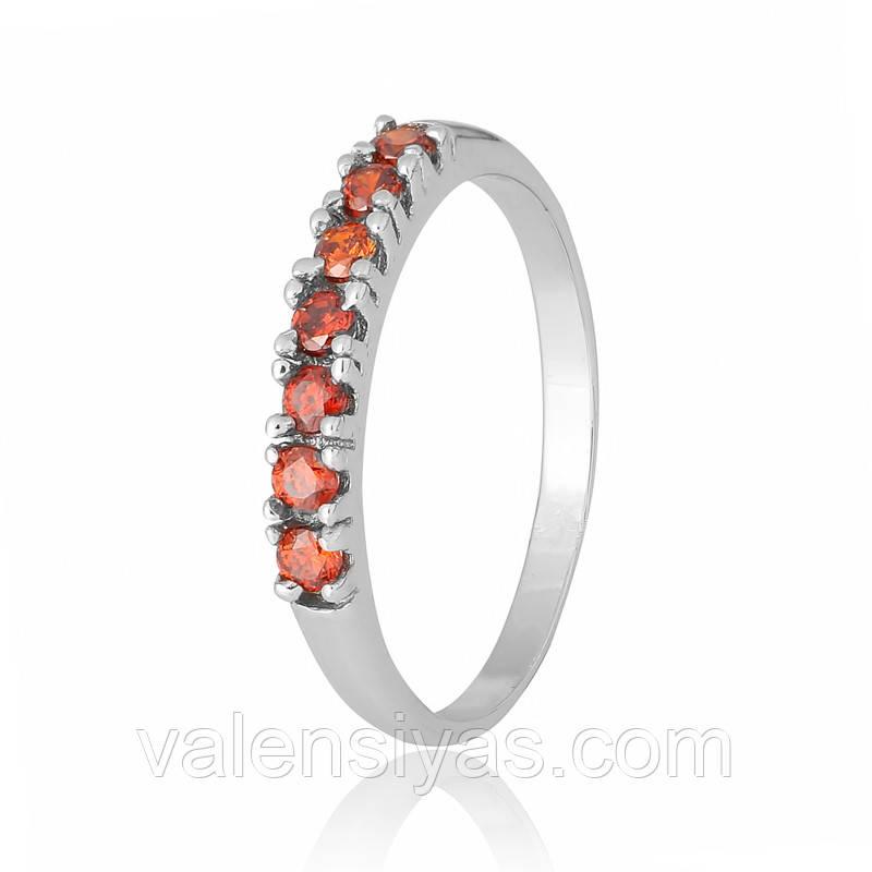 Серебряное кольцо-комплект КК2ФГ/020