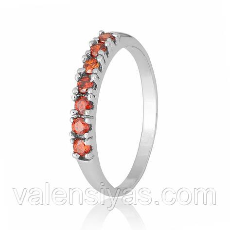 Серебряное кольцо-комплект КК2ФГ/020, фото 2