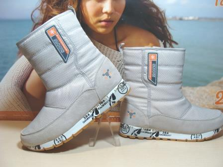 Термо ботинки BaaS Snow Boots бежевые 37 р.