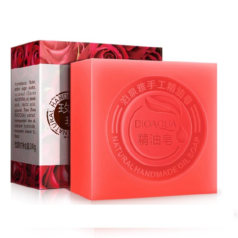 Натуральное мыло с экстрактом розы BIOAQUA Rose Natural Oil Soap