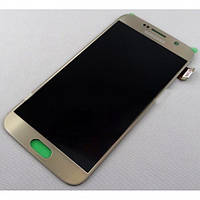 Дисплейный модуль для Samsung G920F Galaxy S6 (Gold Platinum) Original