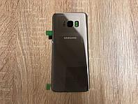 Крышка задняя Samsung SM-G955 Galaxy S8 Plus Duos, Золото Gold оригинал!
