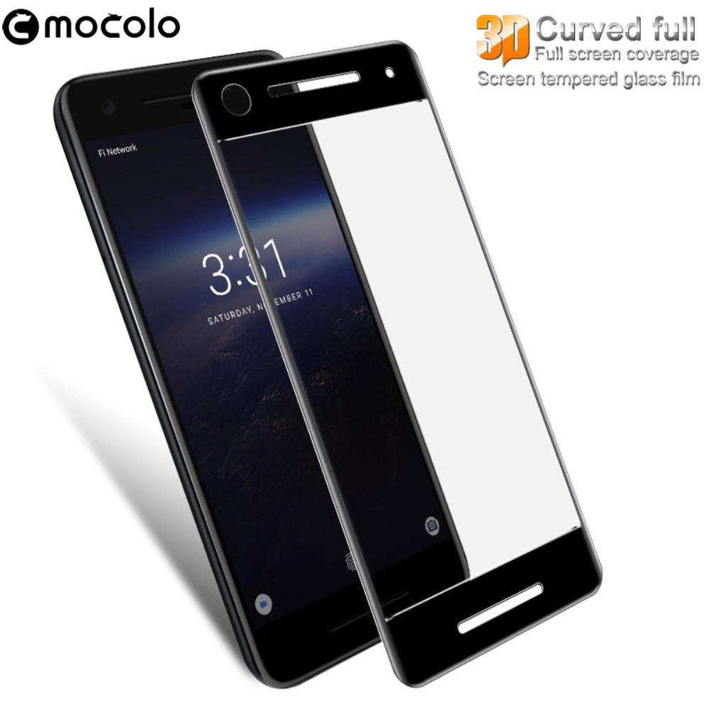 Защитное стекло Mocolo 3D 9H на весь экран для Google Pixel 2 черный