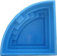 """Ёмкость с крышкой (резервуар) для  активных веществ """"КУТОВА"""" (диаметр 2,8 х1,5м) 6,5м.куб"""