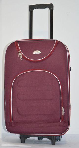 Чемодан дорожный сумка Bonro Lux (небольшой) бордовый