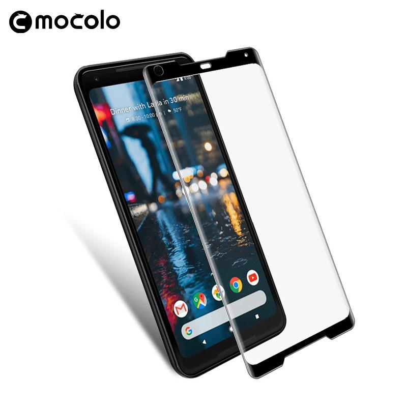 Защитное стекло Mocolo 3D 9H на весь экран для Google Pixel 2 XL черный