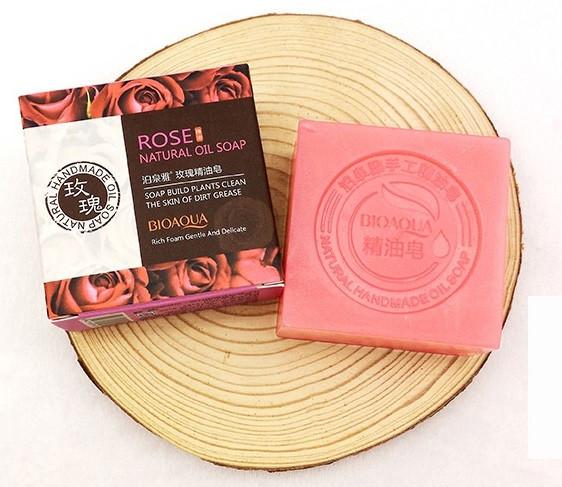 BIOAQUA Rose Natural Oil Soap