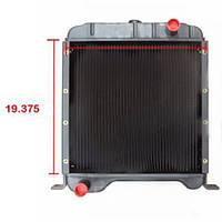 Радиатор для комбайна Case 126522A1